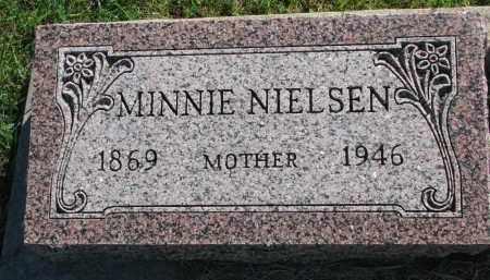NIELSEN, MINNIE - Yankton County, South Dakota   MINNIE NIELSEN - South Dakota Gravestone Photos