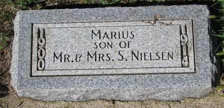 NIELSEN, MARIUS - Yankton County, South Dakota   MARIUS NIELSEN - South Dakota Gravestone Photos
