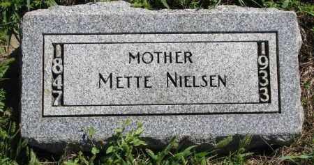 NIELSEN, METTE - Yankton County, South Dakota | METTE NIELSEN - South Dakota Gravestone Photos