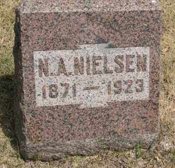 NIELSEN, N.A. - Yankton County, South Dakota | N.A. NIELSEN - South Dakota Gravestone Photos