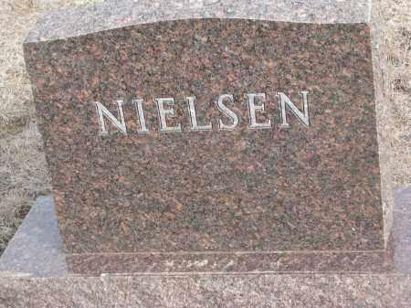 NIELSEN, PLOT STONE - Yankton County, South Dakota | PLOT STONE NIELSEN - South Dakota Gravestone Photos