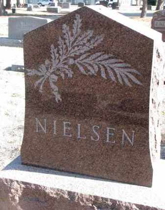NIELSEN, PLOT STONE - Yankton County, South Dakota   PLOT STONE NIELSEN - South Dakota Gravestone Photos