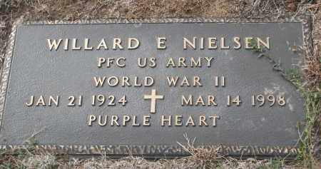 NIELSEN, WILLARD E. - Yankton County, South Dakota   WILLARD E. NIELSEN - South Dakota Gravestone Photos