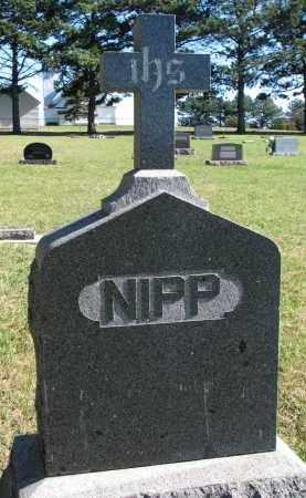 NIPP, FAMILY STONE - Yankton County, South Dakota | FAMILY STONE NIPP - South Dakota Gravestone Photos