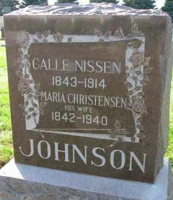 NISSEN, CALLE - Yankton County, South Dakota | CALLE NISSEN - South Dakota Gravestone Photos
