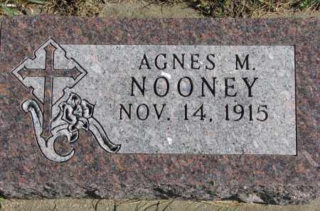 NOONEY, AGNES M. - Yankton County, South Dakota | AGNES M. NOONEY - South Dakota Gravestone Photos