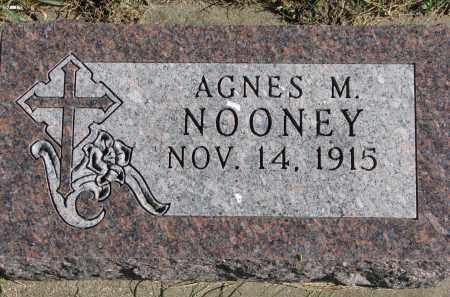 NOONEY, AGNES M. - Yankton County, South Dakota | AGNES M. NOONEY - South Dakota Gravestone Photos