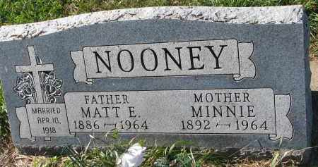 NOONEY, MINNIE - Yankton County, South Dakota | MINNIE NOONEY - South Dakota Gravestone Photos