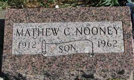 NOONEY, MATHEW C. - Yankton County, South Dakota   MATHEW C. NOONEY - South Dakota Gravestone Photos