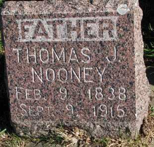 NOONEY, THOMAS J. - Yankton County, South Dakota   THOMAS J. NOONEY - South Dakota Gravestone Photos