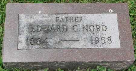 NORD, EDWARD G. - Yankton County, South Dakota | EDWARD G. NORD - South Dakota Gravestone Photos