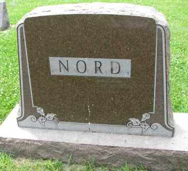 NORD, FAMILY STONE - Yankton County, South Dakota   FAMILY STONE NORD - South Dakota Gravestone Photos