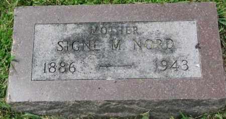 NORD, SIGNE M. - Yankton County, South Dakota   SIGNE M. NORD - South Dakota Gravestone Photos