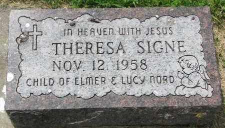 NORD, THERESA SIGNE - Yankton County, South Dakota | THERESA SIGNE NORD - South Dakota Gravestone Photos