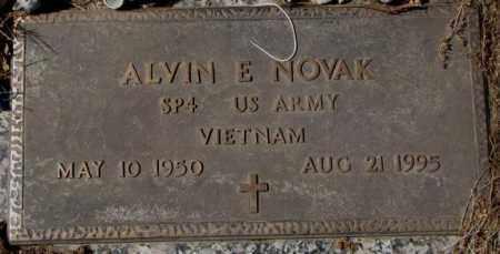 NOVAK, ALVIN E. (VIETNAM) - Yankton County, South Dakota   ALVIN E. (VIETNAM) NOVAK - South Dakota Gravestone Photos