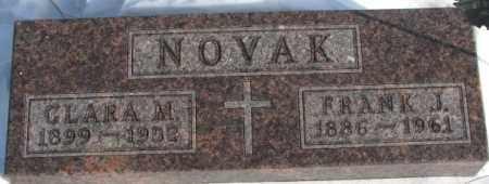NOVAK, CLARA M. - Yankton County, South Dakota | CLARA M. NOVAK - South Dakota Gravestone Photos