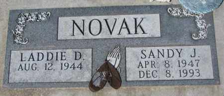 NOVAK, SANDY J. - Yankton County, South Dakota | SANDY J. NOVAK - South Dakota Gravestone Photos