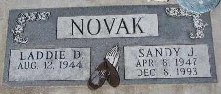 NOVAK, LADDIE D. - Yankton County, South Dakota | LADDIE D. NOVAK - South Dakota Gravestone Photos