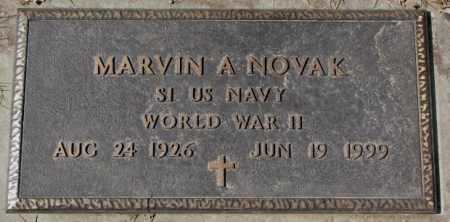 NOVAK, MARVIN A. (WW II) - Yankton County, South Dakota | MARVIN A. (WW II) NOVAK - South Dakota Gravestone Photos