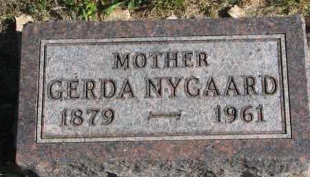 NYGAARD, GERDA - Yankton County, South Dakota | GERDA NYGAARD - South Dakota Gravestone Photos