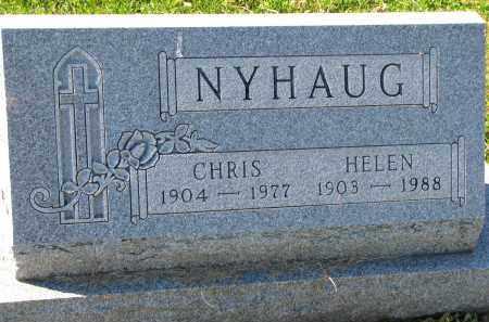 NYHAUG, CHRIS - Yankton County, South Dakota | CHRIS NYHAUG - South Dakota Gravestone Photos