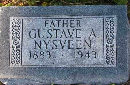 NYSVEEN, GUSTAVE A. - Yankton County, South Dakota | GUSTAVE A. NYSVEEN - South Dakota Gravestone Photos