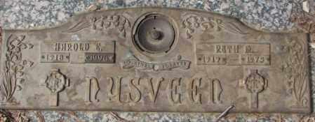 NYSVEEN, HAROLD E. - Yankton County, South Dakota | HAROLD E. NYSVEEN - South Dakota Gravestone Photos