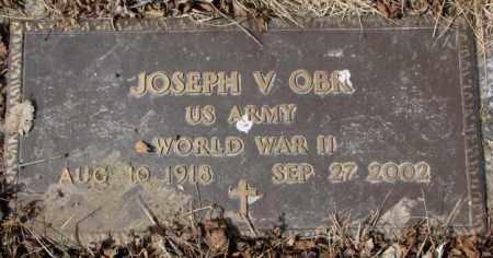OBR, JOSEPH V. - Yankton County, South Dakota | JOSEPH V. OBR - South Dakota Gravestone Photos