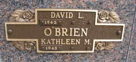 O'BRIEN, KATHLEEN M. - Yankton County, South Dakota   KATHLEEN M. O'BRIEN - South Dakota Gravestone Photos