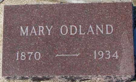 ODLAND, MARY - Yankton County, South Dakota | MARY ODLAND - South Dakota Gravestone Photos