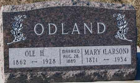 LARSON ODLAND, MARY - Yankton County, South Dakota   MARY LARSON ODLAND - South Dakota Gravestone Photos