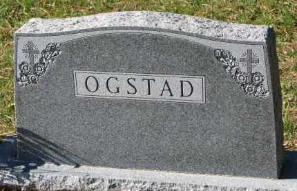 OGSTAD, FAMILY STONE - Yankton County, South Dakota   FAMILY STONE OGSTAD - South Dakota Gravestone Photos