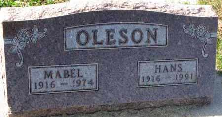 OLESON, HANS - Yankton County, South Dakota | HANS OLESON - South Dakota Gravestone Photos