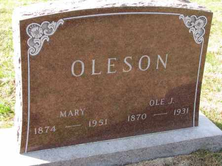 OLESON, MARY - Yankton County, South Dakota | MARY OLESON - South Dakota Gravestone Photos