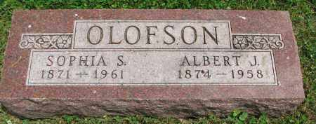 OLOFSON, ALBERT J. - Yankton County, South Dakota | ALBERT J. OLOFSON - South Dakota Gravestone Photos