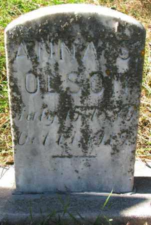 OLSON, ANNA S. - Yankton County, South Dakota | ANNA S. OLSON - South Dakota Gravestone Photos