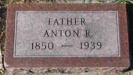 OLSON, ANTON R. - Yankton County, South Dakota   ANTON R. OLSON - South Dakota Gravestone Photos