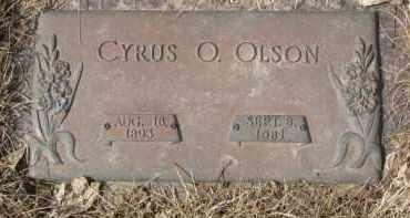 OLSON, CYRUS O. - Yankton County, South Dakota | CYRUS O. OLSON - South Dakota Gravestone Photos