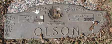 OLSON, SYLVIA I. - Yankton County, South Dakota | SYLVIA I. OLSON - South Dakota Gravestone Photos