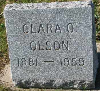 OLSON, CLARA O. - Yankton County, South Dakota | CLARA O. OLSON - South Dakota Gravestone Photos