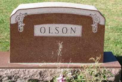 OLSON, FAMILY STONE - Yankton County, South Dakota   FAMILY STONE OLSON - South Dakota Gravestone Photos