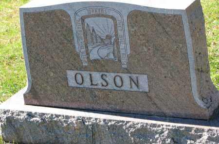 OLSON, FAMILY STONE - Yankton County, South Dakota | FAMILY STONE OLSON - South Dakota Gravestone Photos
