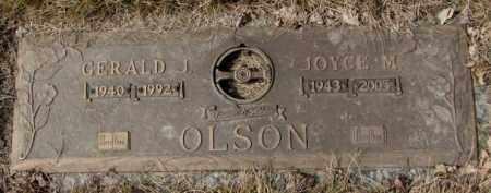 OLSON, JOYCE M. - Yankton County, South Dakota | JOYCE M. OLSON - South Dakota Gravestone Photos
