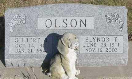 OLSON, GILBERT B. - Yankton County, South Dakota | GILBERT B. OLSON - South Dakota Gravestone Photos