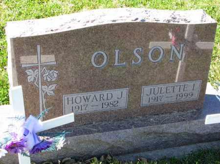 OLSON, HOWARD J. - Yankton County, South Dakota | HOWARD J. OLSON - South Dakota Gravestone Photos