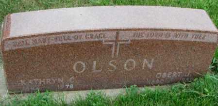 OLSON, KATHRYN C. - Yankton County, South Dakota | KATHRYN C. OLSON - South Dakota Gravestone Photos