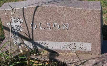OLSON, ELSIE G. - Yankton County, South Dakota   ELSIE G. OLSON - South Dakota Gravestone Photos