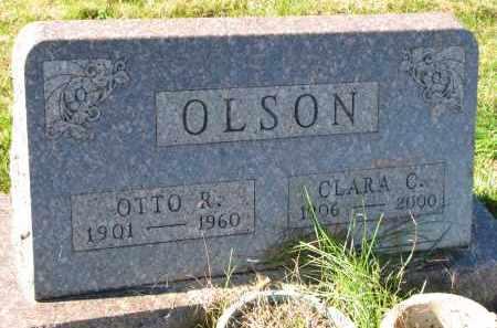 OLSON, OTTO R. - Yankton County, South Dakota | OTTO R. OLSON - South Dakota Gravestone Photos