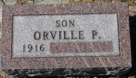 OLSON, ORVILLE P. - Yankton County, South Dakota   ORVILLE P. OLSON - South Dakota Gravestone Photos