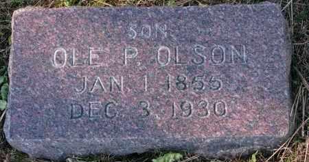 OLSON, OLE P. - Yankton County, South Dakota | OLE P. OLSON - South Dakota Gravestone Photos